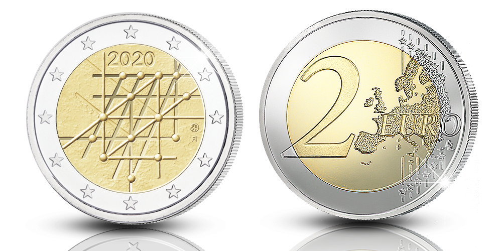 The new 2020 Finnish special euro coin