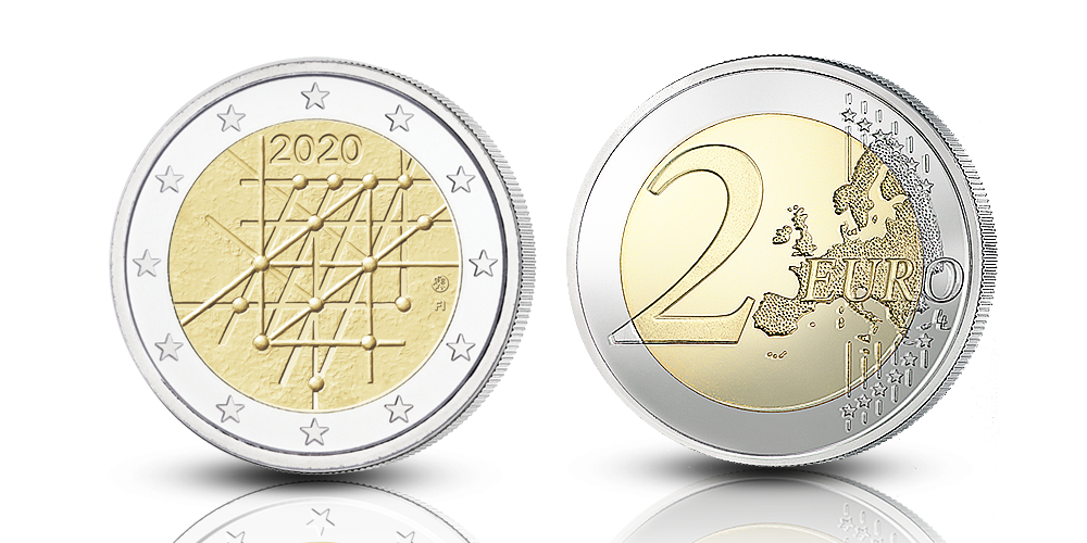 Finnish special euro coin 2020